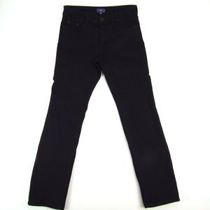 NYDJ Legging Black Skinny Slim Womens Jeans